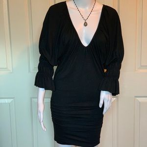 Black Tart Cocktail Dress